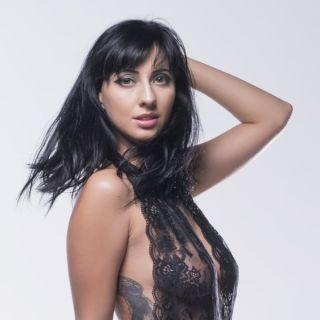 sex Rebecca Volpetti stockings -premium bukkake