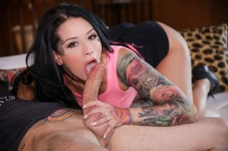sexy Katrina Jade big tits cumshots