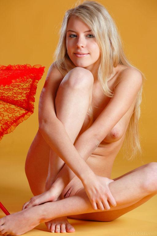 Young Russian model Barbara D set Menyra by MetArt