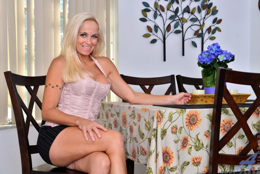 Blonde granny Dani Dare