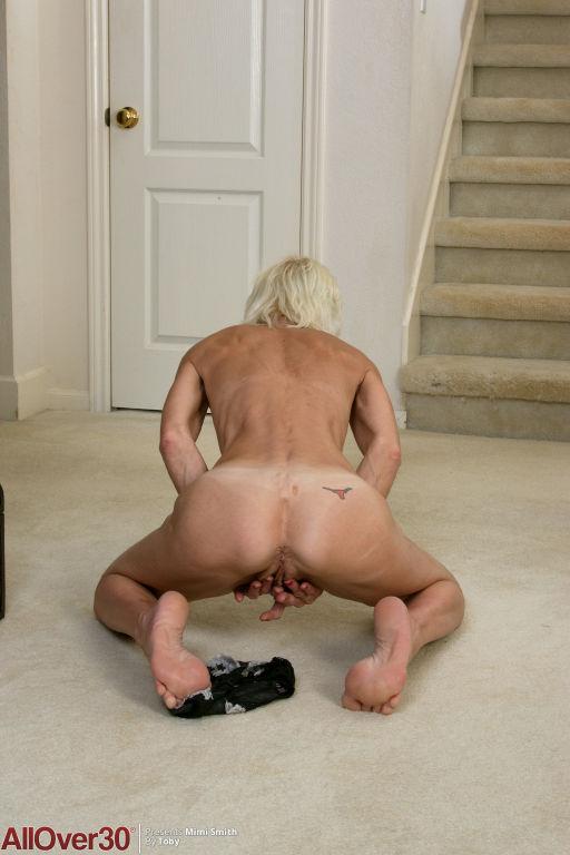 Blonde Mature Babe Mimi Smith
