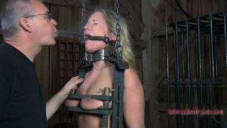 sexy Dia Zerva blonde spanking