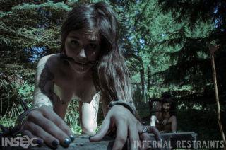 naked London River -infernal restraints *lydia black