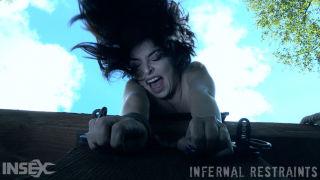 porn Keira Croft outdoor torture