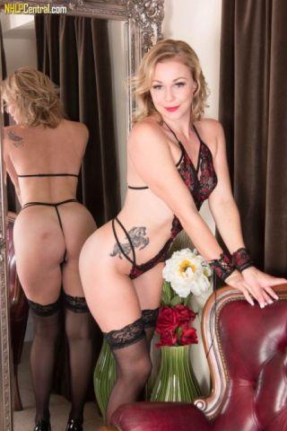 naked Lucy Lauren nice ass british