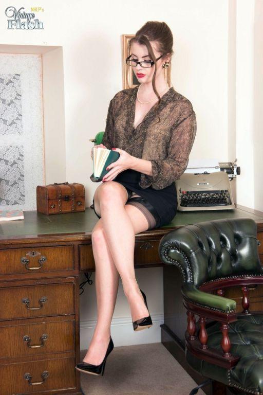 full fashion nylons and designer heels