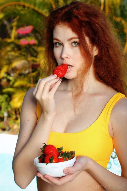 Young model Adel C set Sunshine by MetArt