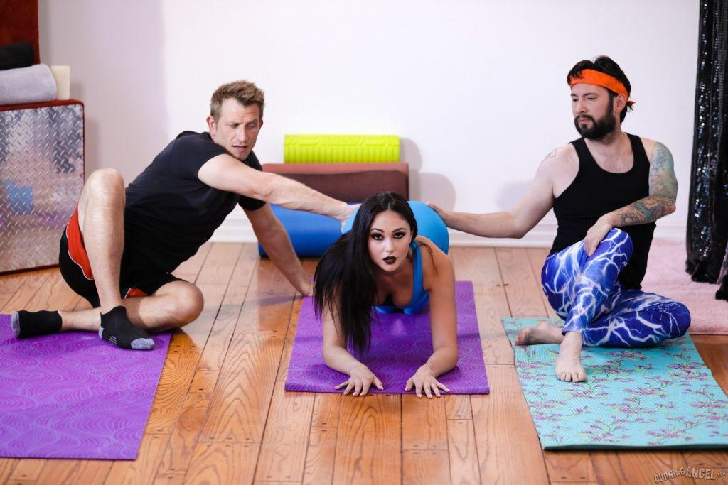 Ariana Marie finally opened a yoga studio a year