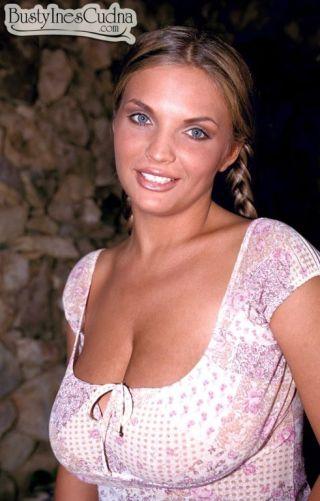 naked Ines Cudna panties busty