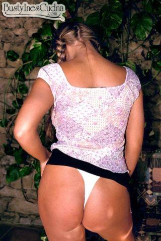 naked Ines Cudna beautiful model