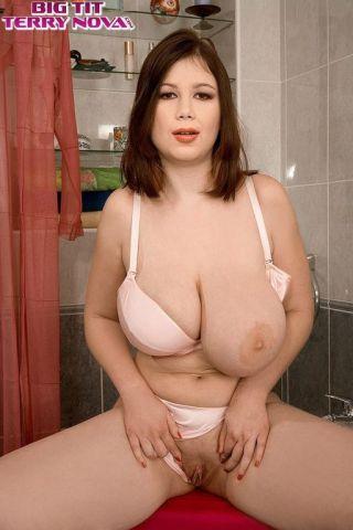sex Terry Nova bathroom big tits