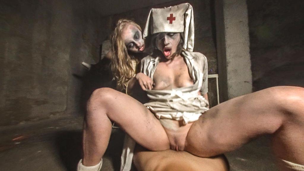 God forgotten psychiatric ward with a evil spirit