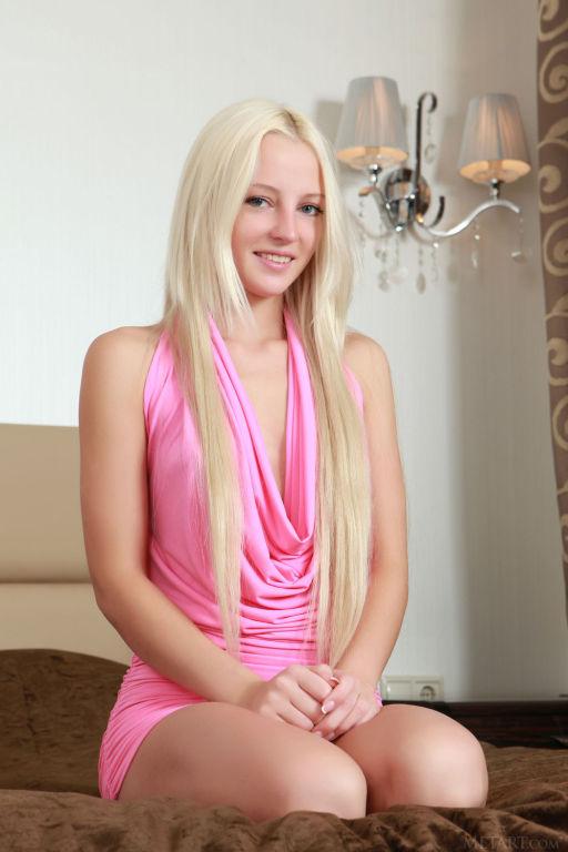 Young Russian model Alysha A set Yrlis by MetArt