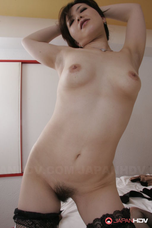 Sexy lady Sayaka Takase shows off