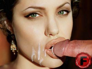porn Angelina Jolie anal group sex