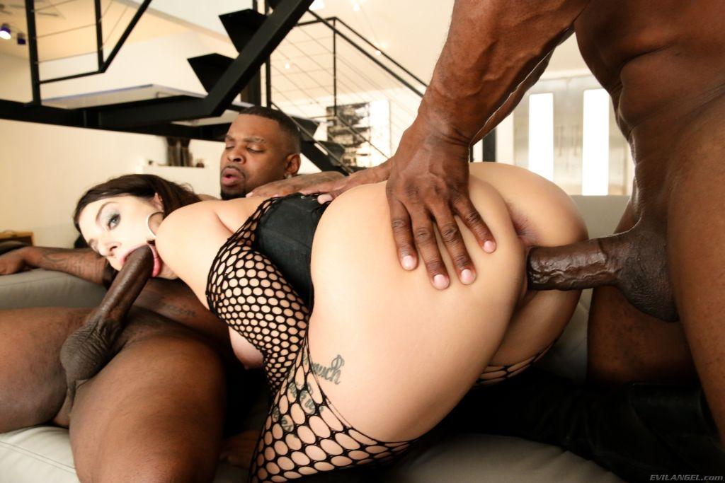 Ivy Lebelles First Interracial DP