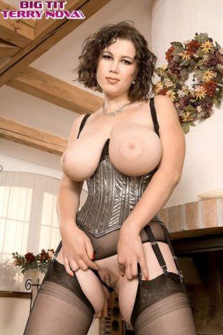 naked Terry Nova beautiful busty