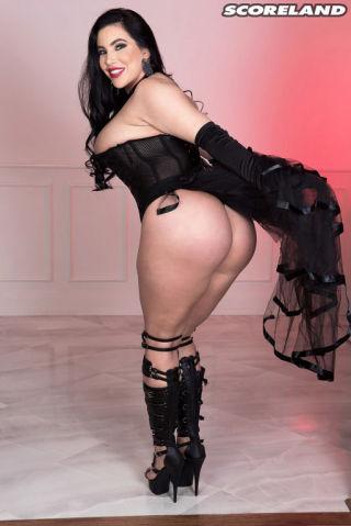 naked Korina Kova lingerie lingerie