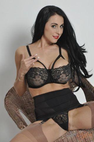 naked Louise Jenson british brunette