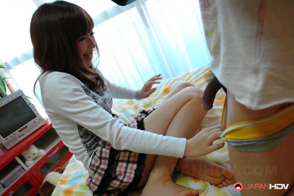 Sexy Kaori Aikawa gets a cumload