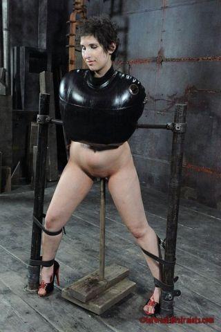 naked Marina Mae *marina mae -infernal restraints