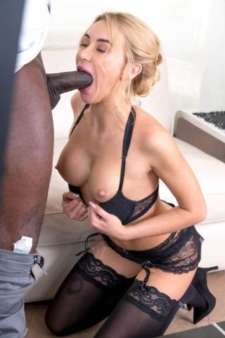 naked Katrin Tequila blonde -private black