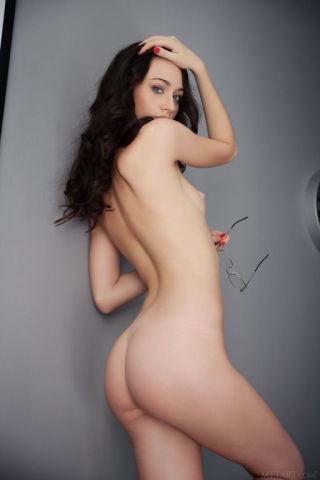 sexy Zsanett Tormay natural small tits