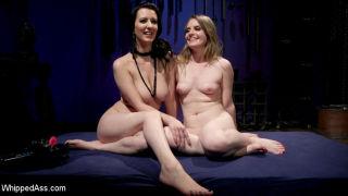 Cherry Torn's Dirty-Talking Anal Lesbian Slut