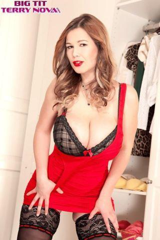 nude Terry Nova boobs lingerie
