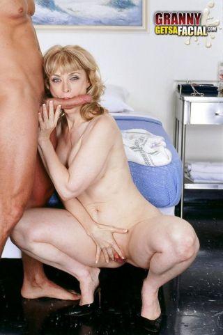 sex Nina Hartley blowjob facial
