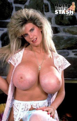 nude Busty Dusty stockings boobs