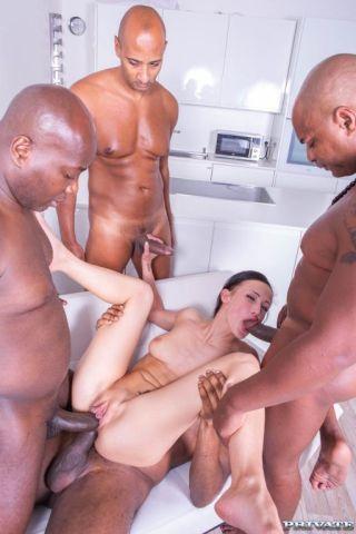 sexy Nicole Love cream pie -private black