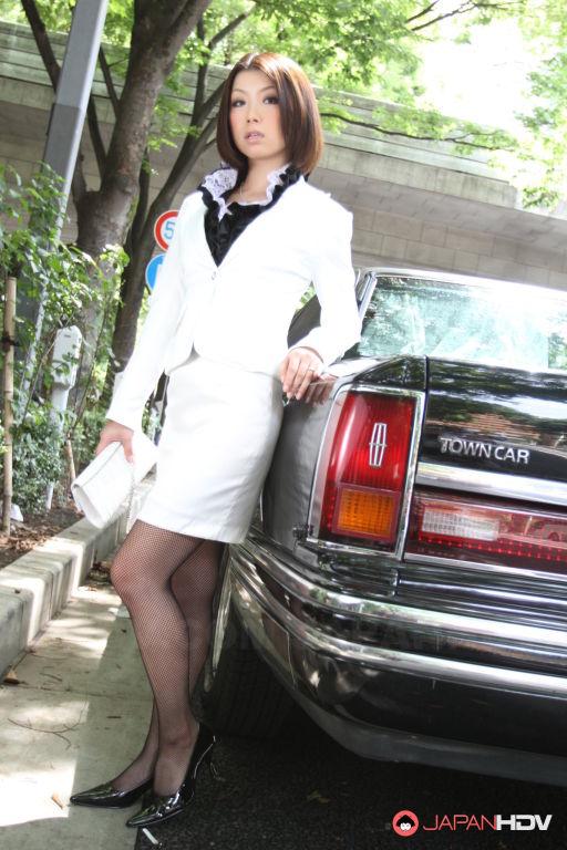 Hot darling in stockings Tsubaki