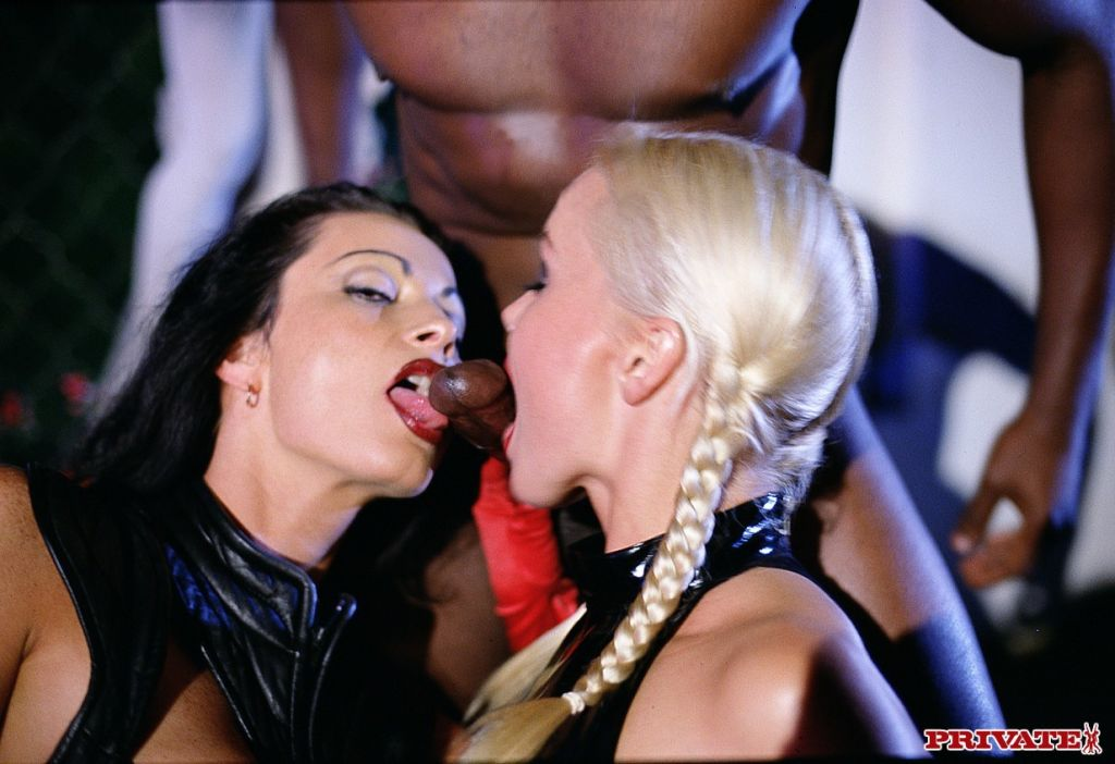 Classic pornstar Silvia Saint fucking in vintage x