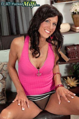 porn Summer Meadows skinny brunette