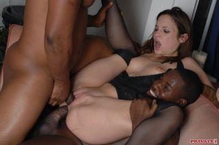 sexy Amber Rayne hardcore -private black