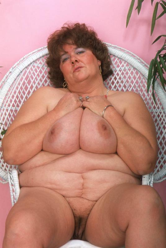 Bbw in lingerie