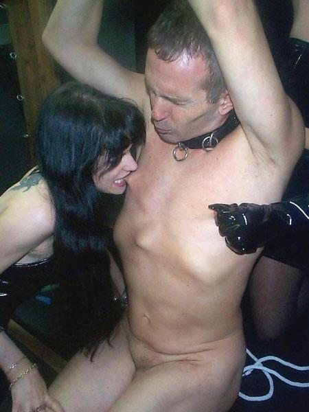 Femdom nipple torture