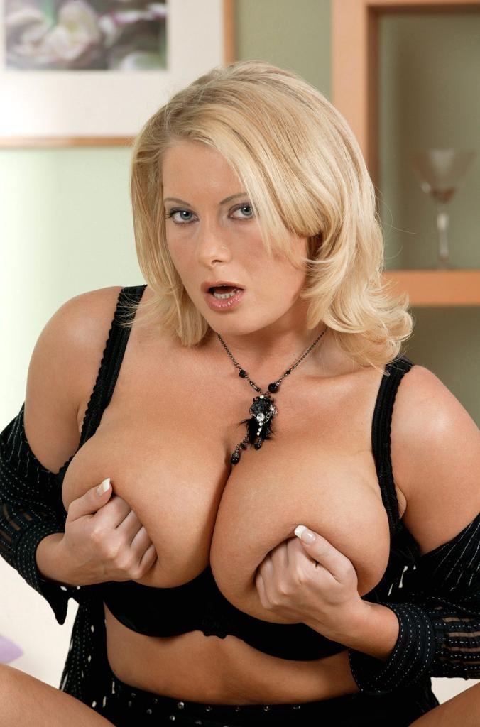 Huge Fake Tits Striptease
