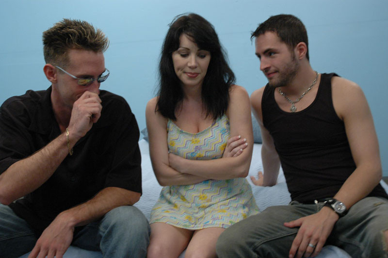 Busty Asian Milf Threesome