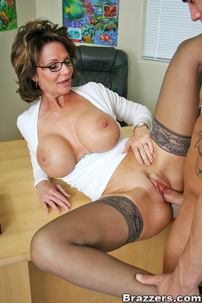 Horny Busty Teacher