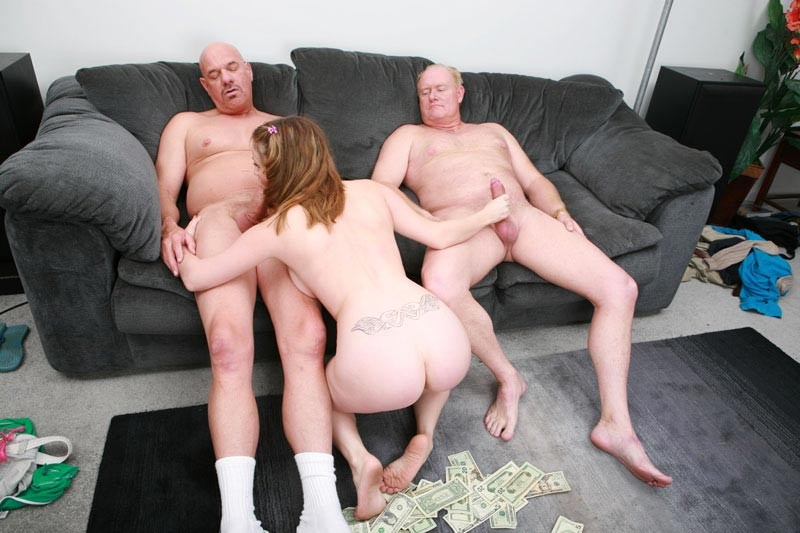 Mom Teaches Teen Threesome