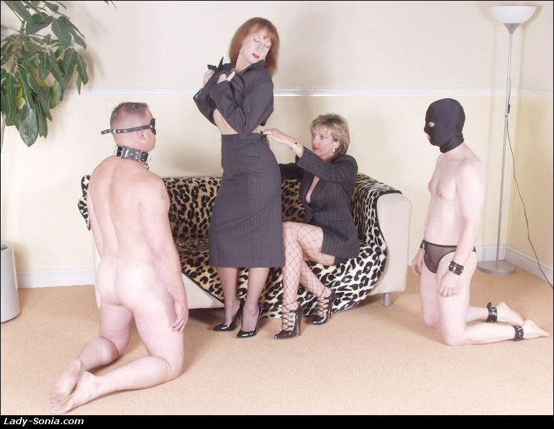 Mistress Dominates Slave Girl