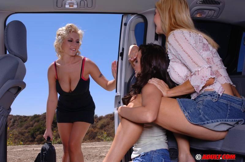 Big Tit Lesbians Threesome