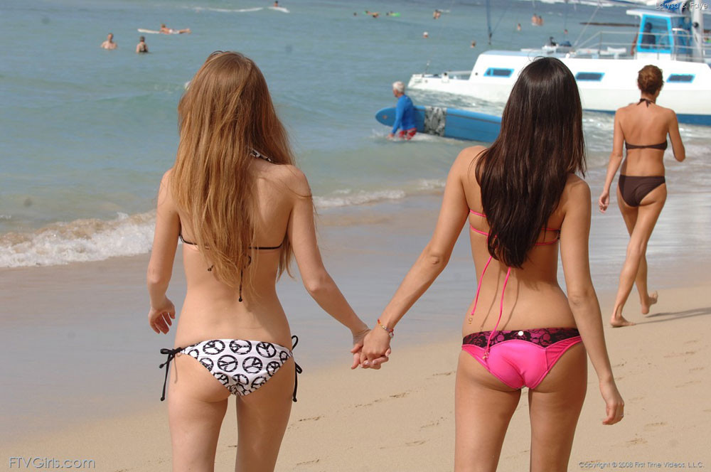 Tiny Teen Lesbian Strapon