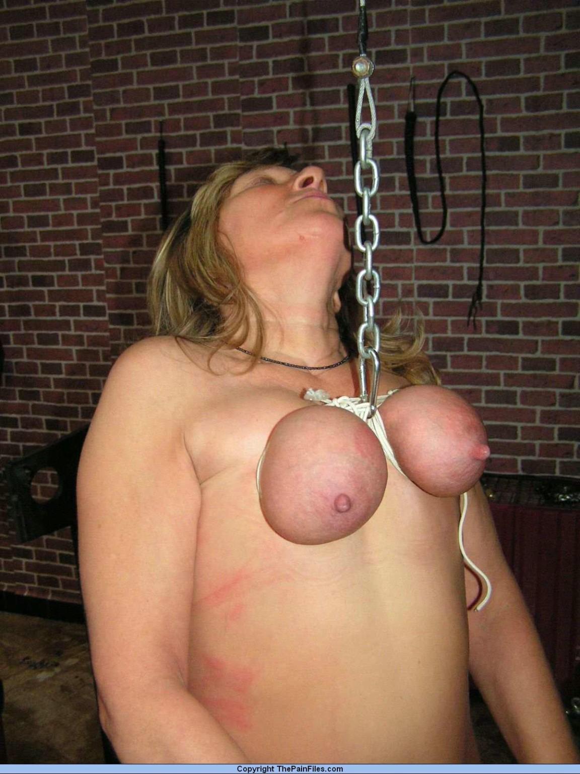 amateur mature breast torture