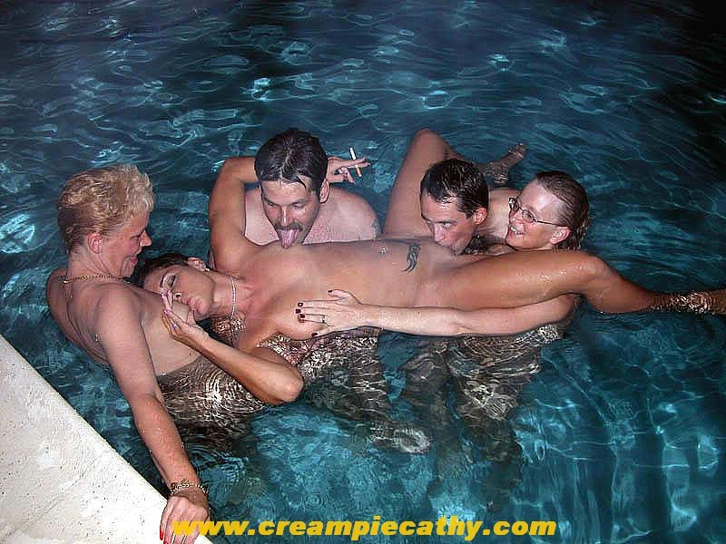 Swimming Pool Fuck Big Tits