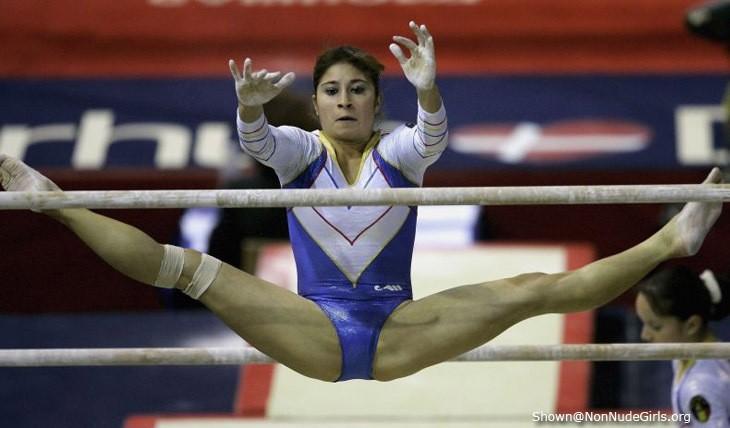 Gymnast crotch pics