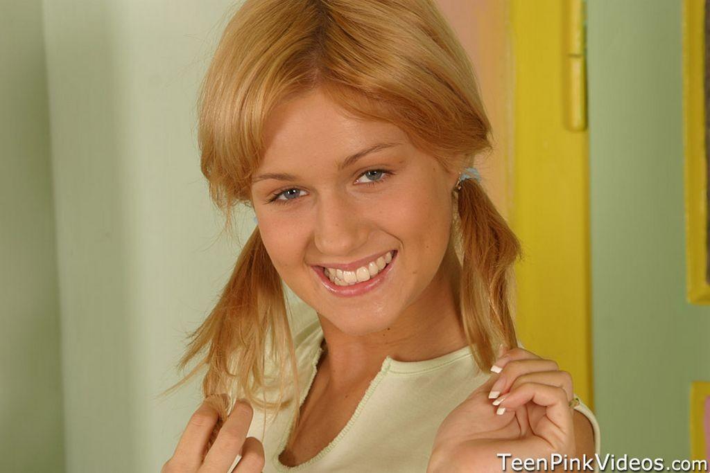 Small Blonde Teen Braces