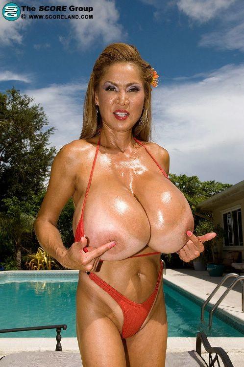 Biggest tits pornstar